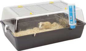 Savic dwerg-konijnenkooi Rody Cavia, grijs