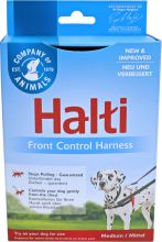 Halti frontcontrol harness rood/zwart, medium.