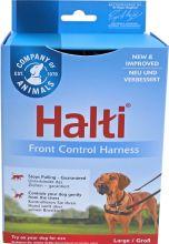 Halti frontcontrol harness rood/zwart, large.