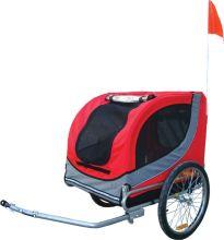 Fietskar 'Runner (merk Boon) 2', rood/grijs