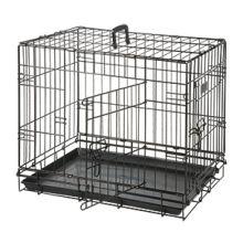 Bench 2-Deurs Zwart - Hondenbench - 77x54x47 cm