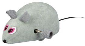 Trixie Wind Up Felt Mouse, Plastic