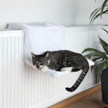 Trixie Radiator Bed, Plush wit