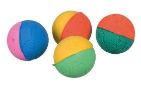 Trixie Set of Soft Balls, Foam Rubber