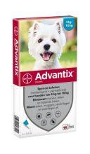 Advantix 100/500 voor honden - 4 tot 10 kg