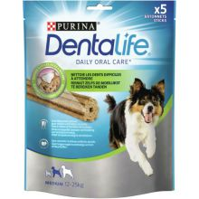 Purina Dentalife Daily Oral Care - Hondensnacks - 115 g 5 stuks Medium