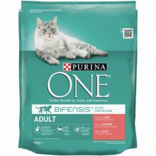 Purina One Adult Zalm&Granen - 3 kg