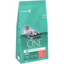Purina One Adult Zalm&Granen - 1.5 kg