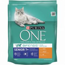 Purina One Senior Kip&Granen -1.5 kg