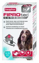 Beaphar Fiprotec Combo Dog 3 pip - Anti vlooien en tekenmiddel - 10-20kg