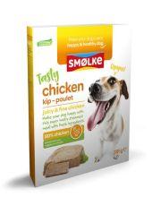 Smolke Vers Gestoomde Maaltijd 395 g - Hondenvoer - Kip&Bruine Rijst&Groente