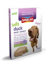 Smolke Vers Gestoomde Maaltijd 395 g - Hondenvoer - Eend&Bruine Rijst&Groente