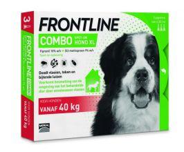 Frontline Combo Spot On 4 Xlarge Hond Xlarge - Anti vlooien en tekenmiddel - 3 pip