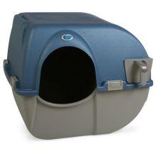 Omega Paw Zelfreinigende Kattenbak Medium - Kattenbak - 51X55X47 cm Blauw