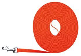 Trixie Easy Life Sleeplijn  5 m/17 mm Lengte: 5 m Kleur: neon oranje
