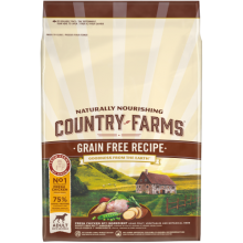 Country Farms Grainfree Adult Dog Chicken 12 KG