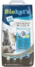 Biokat's Diamond Care Multicat - Kattenbakvulling - 8 l
