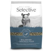 Supreme Science Selective Chinchilla - Chinchillavoer - 1.5 kg