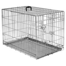 Bench 2-Deurs De Luxe Verzinkt - Hondenbench - 107x71x77 cm