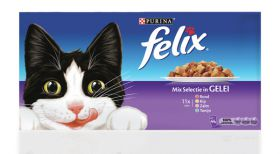 Felix M-P pouch mixed selection 44x100 g rund