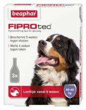 Beaphar Fiprotec Dog 4 pip - Anti vlooien en tekenmiddel - 40-60kg