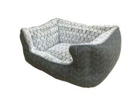 Adori Mand Knitted - Kattenmand - 47x38x23 cm Grijs