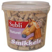 Subli Smikkels Naturel - Paardensnack - 1.5 kg