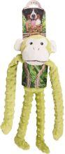 Flamingo Pluche Aap Groen - Hondenspeelgoed - 40 cm - Groen