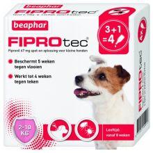 FiproTec hond 3+1 pip 2-10kg