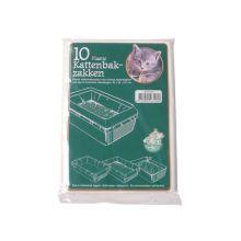 Kattenbak Afvalzakken Plastic Extra Groot 10st