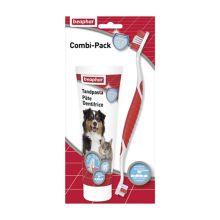 Beaphar Combi-pack Tandpasta + Tandenborstel