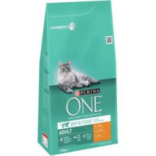Purina One Adult - Kip- Granen 1.5 kg